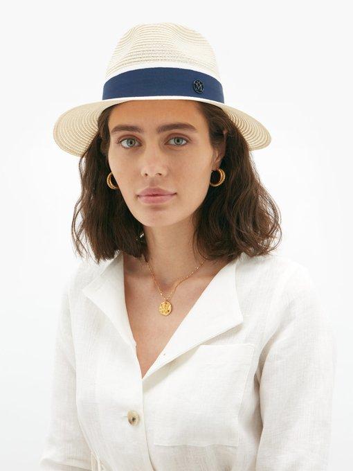 0b65f60e Henrietta straw hat | Maison Michel | MATCHESFASHION.COM UK