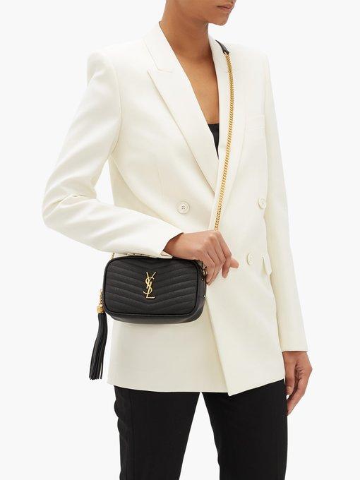 Lou mini leather cross,body bag