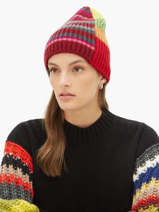 7dafd8499 Striped patchwork beanie hat | Colville | MATCHESFASHION.COM AU