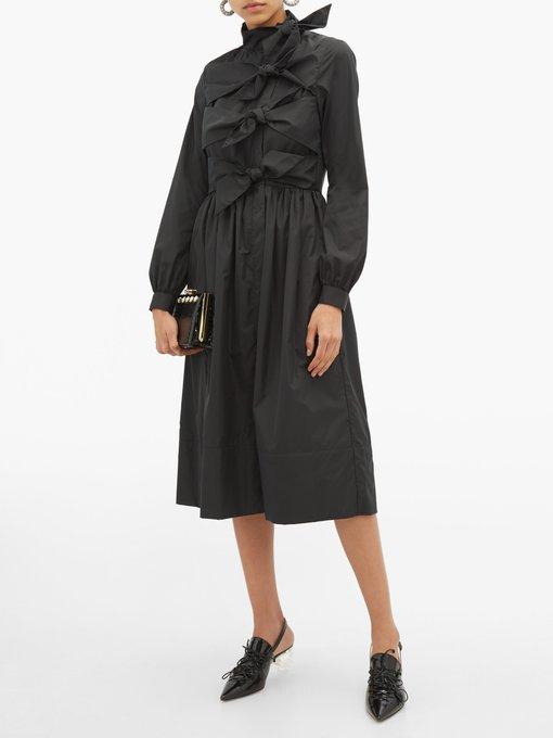 d80f4dbb42e Add to wishlist Go to WishList. Molly Goddard Hester bow-embellished  taffeta coat dress