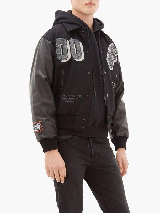 Windbreaker varsity jacket   Maison Kitsuné   MATCHESFASHION JP