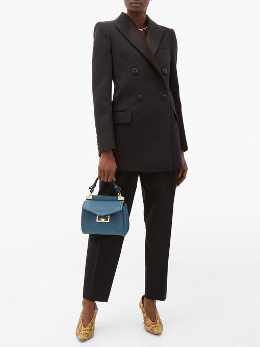 Mystic mini leather handbag | Givenchy