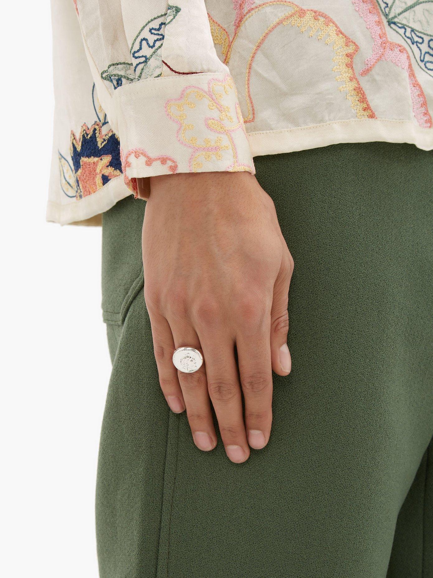 mens Signet Ring