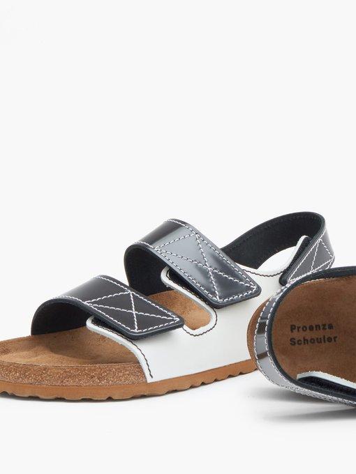 Milano leather sandals   Birkenstock x Proenza Schouler